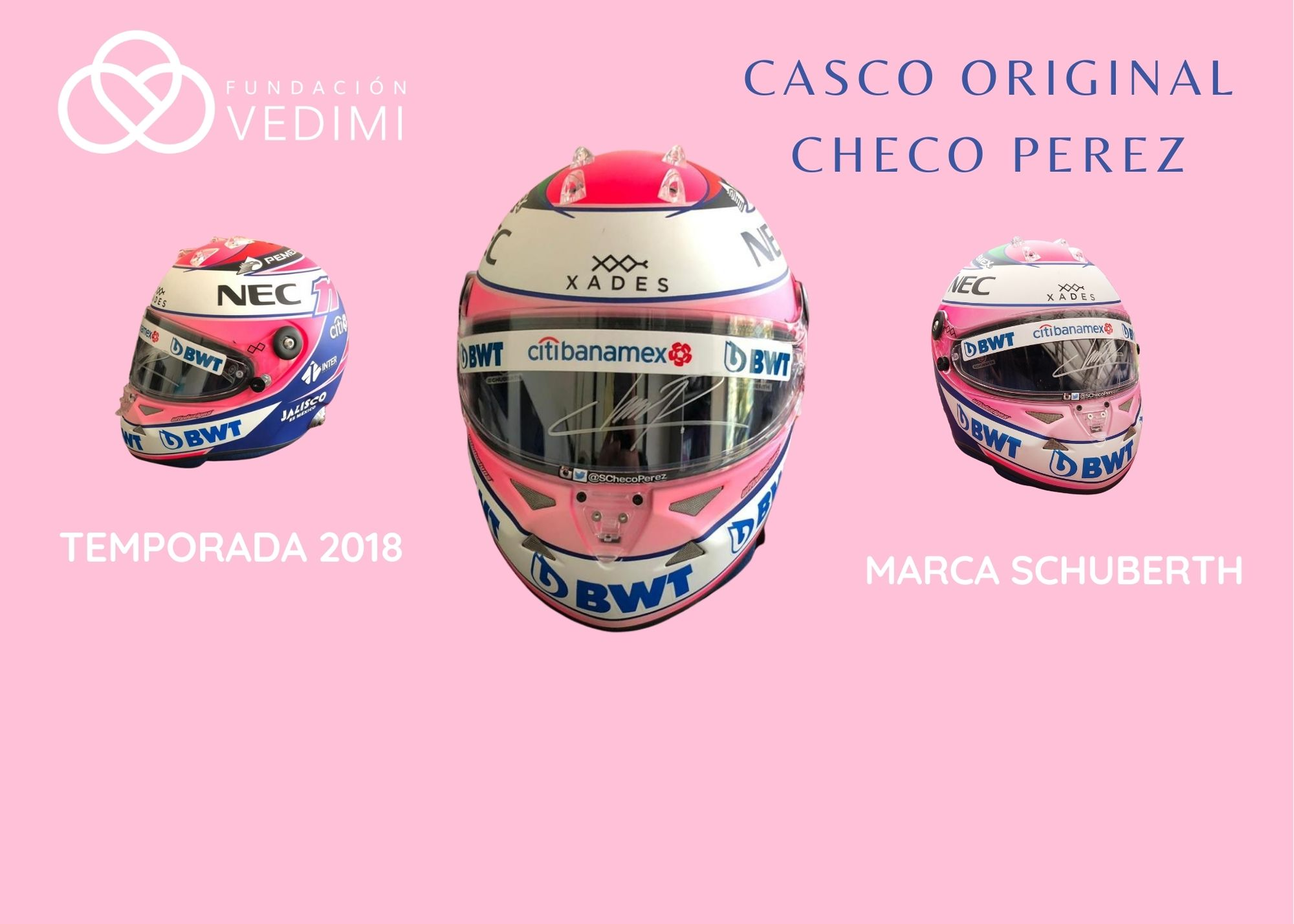 CASCO CHECO PEREZ